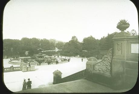Bethesda Fountain, 1880