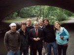 Group photo with Michael Dukakis