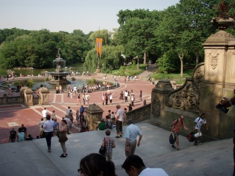Bethesda Fountain, 2009