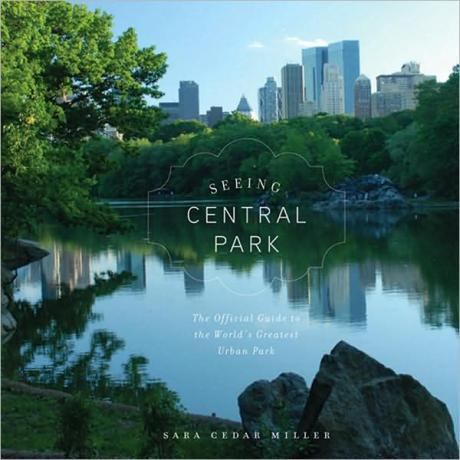 "Miller's latest book, ""Seeing Central Park"""